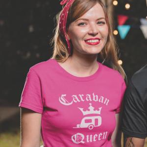 Caravan Queen T Shirt