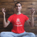 Keep Calm and Caravan T Shirt