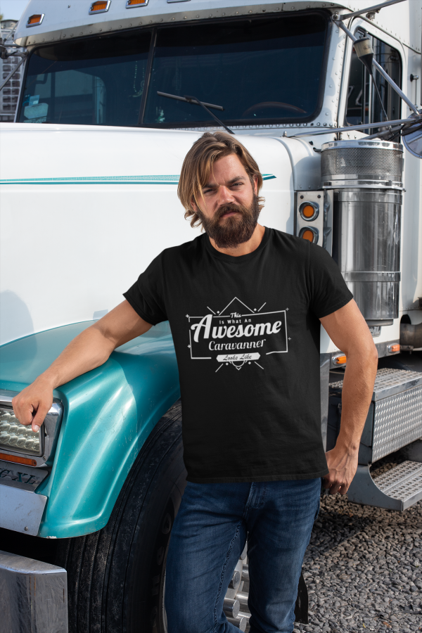 This Is What An Awesome Caravanner Looks Like T Shirt